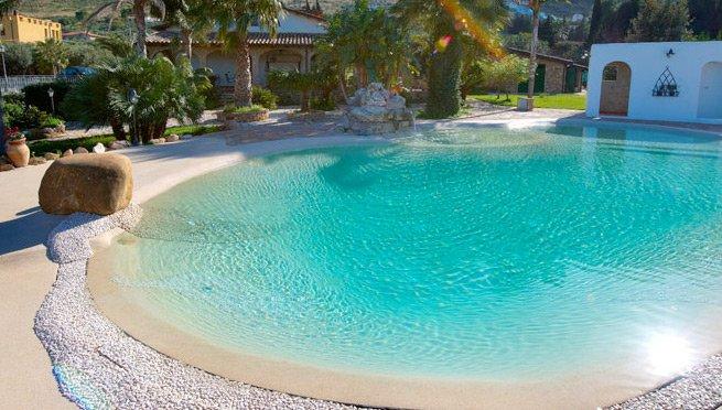 Construccion de piscinas sevilla instalaci n de piscinas - Piscina de arena de hormigon gunitado ...