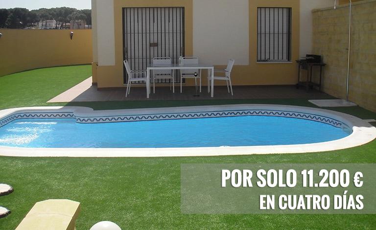 oferta de piscinas en poliéster