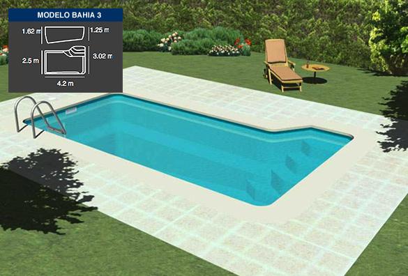 bahia3, piscinas de poliéster