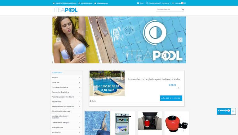 Tienda online - Piscinas Vélez