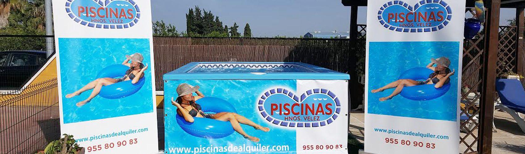 Alquiler de piscinas - Piscinas Vélez